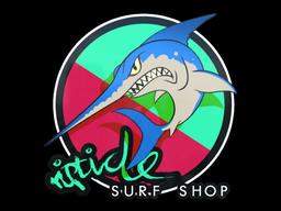 Sticker | Watermelon Stabbyfish