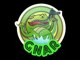 Sticker | Green Gnar