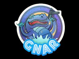 Sticker | Blue Gnar