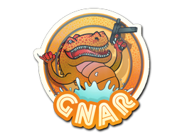 Sticker | Orange Gnar