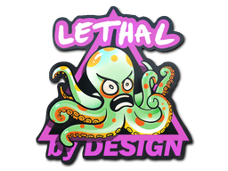 Sticker   Green Lethal