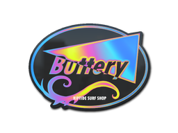 Sticker   Candy Buttery (Holo)