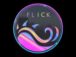 Sticker   Miami Flick (Holo)
