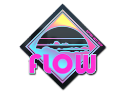 Sticker   Miami Flow (Holo)