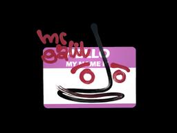 Sticker | Hello Galil AR