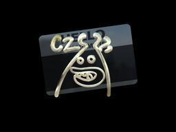 Sticker | Hello CZ75-Auto (Gold)