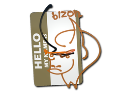 Sticker | Hello PP-Bizon