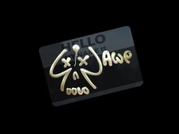 Sticker | Hello AWP (Gold)