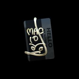 Hello MAC-10 (Gold)