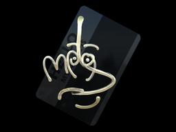 Sticker | Hello MP9 (Gold)
