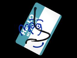 Sticker | Hello MP9