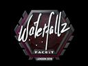 Sticker   waterfaLLZ   London 2018