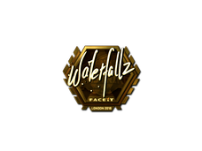 Skin Sticker | waterfaLLZ (Gold) | London 2018