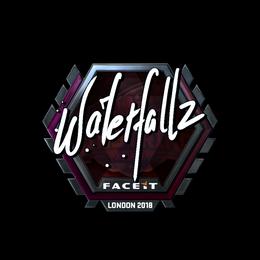 waterfaLLZ (Foil)   London 2018