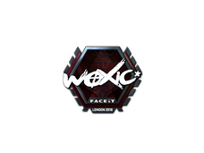 Skin Sticker | woxic (Foil) | London 2018