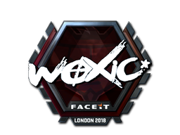 Sticker | woxic (Foil) | London 2018