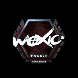 woxic (Foil) | London 2018