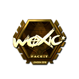 woxic (Gold) | London 2018