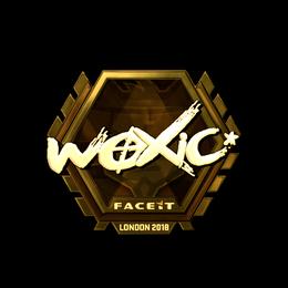 woxic (Gold) | London 2018