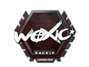 Sticker   woxic   London 2018