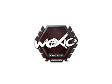 Skin Sticker | woxic | London 2018