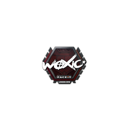 Sticker | woxic | London 2018