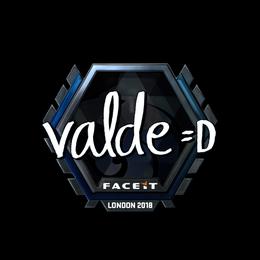 v4lde (Foil) | London 2018
