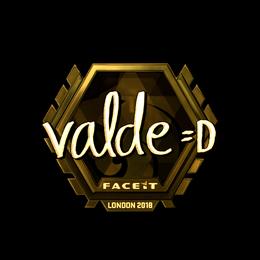 v4lde (Gold) | London 2018