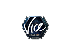Skin Sticker | vice (Foil) | London 2018