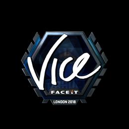 vice (Foil) | London 2018