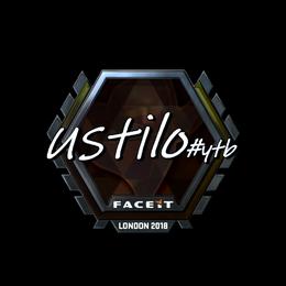 USTILO (Foil)   London 2018