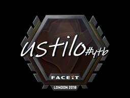 Sticker | USTILO | London 2018
