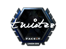 Sticker | Twistzz (Foil) | London 2018