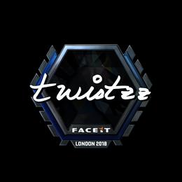 Twistzz (Foil) | London 2018
