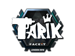 Sticker | tarik (Foil) | London 2018