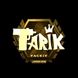 tarik (Gold) | London 2018
