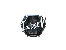 Skin Sticker | tabseN (Foil) | London 2018
