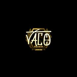 Sticker | TACO (Gold) | London 2018