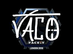 TACO | London 2018