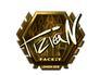 Skin Sticker | tiziaN (Gold) | London 2018