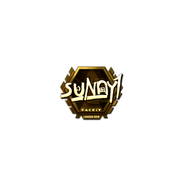 Sticker | suNny (Gold) | London 2018