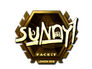 Skin Sticker | suNny (Gold) | London 2018
