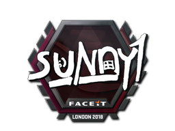 Sticker | suNny | London 2018