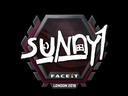 Sticker | suNny | London 2018