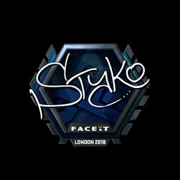 STYKO (Foil) | London 2018