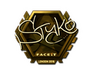 Skin Sticker | STYKO (Gold) | London 2018