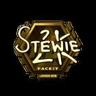 Sticker   Stewie2K (Gold)   London 2018