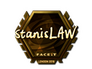Skin Sticker | stanislaw (Gold) | London 2018