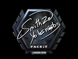 Наклейка | SmithZz (металлическая) | Лондон 2018