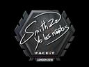 Sticker | SmithZz | London 2018